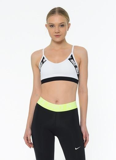 Nike Bra-Sporcu Sütyeni Beyaz